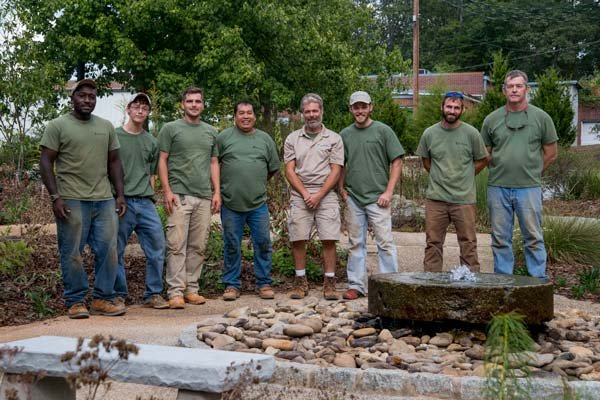 Earth Design | Landscape Architecture | Greenville, SC | The Crew